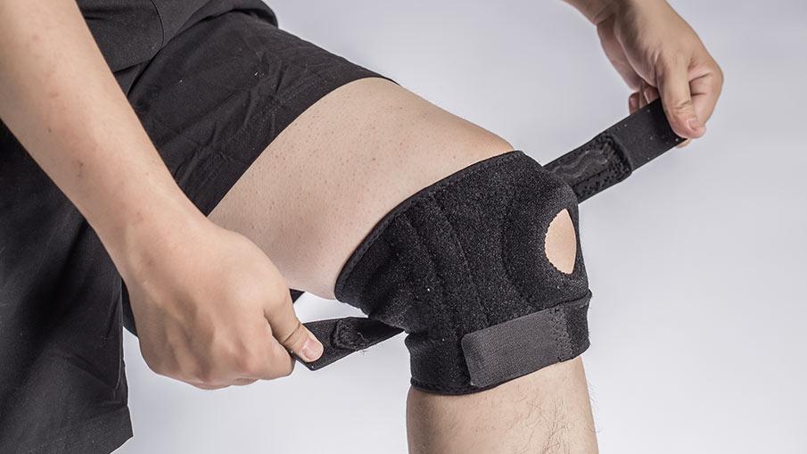 Knäskydd för träning och rehabilitering
